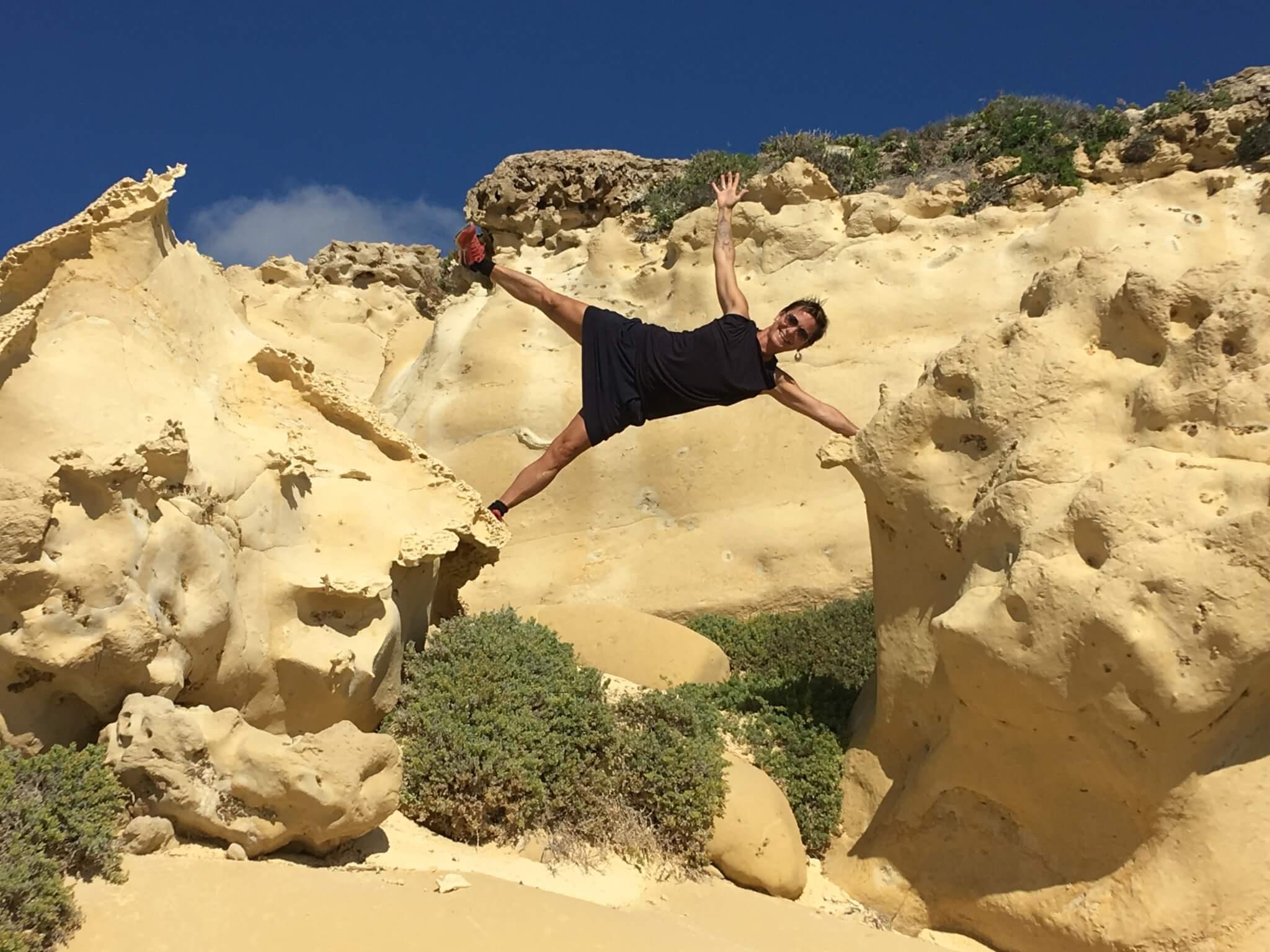 Salt Pans Gozo Yoga