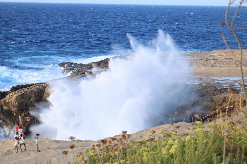 Dwejra waves Gozo